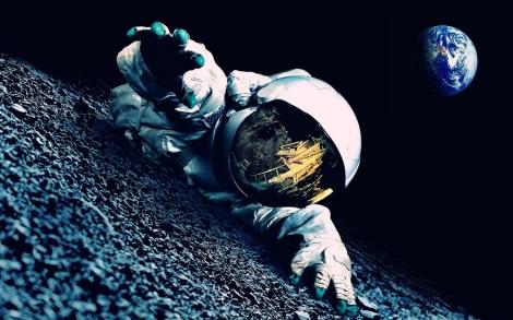 Astronaut-trouble